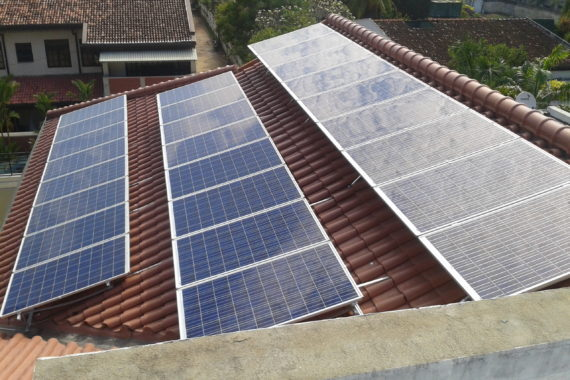 15.1kW System at Colombo 03